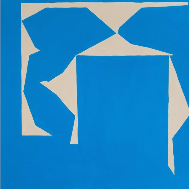 """Abstract Ulla Pedersen """"Cut-Up Paper I.14"""", Painting For Sale - Image 3 of 5"""