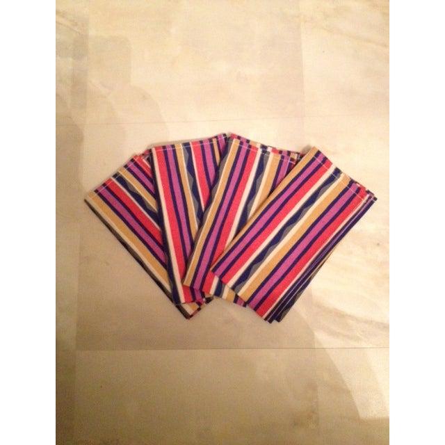 Missoni Striped Home Napkins - Set of 4 - Image 2 of 6