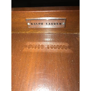 Bronze Mounted Mahogany Card Table by Ralph Lauren with Drawer Preview
