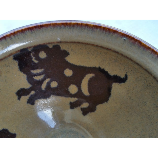Asian Chinese Hand Thrown Zodiac Bowls - Set of 4 For Sale - Image 3 of 6