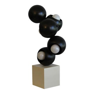 Robert Sonneman sculptural Table Lamp. For Sale