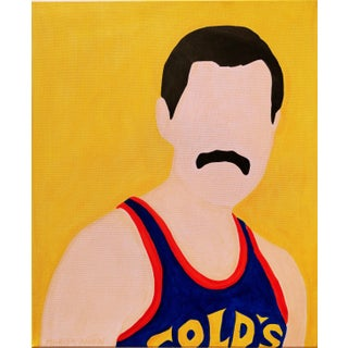"""Freddie 10"" Painting by Marisa Añón For Sale"