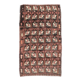 Vintage Turkish Decorative Kilim Rug For Sale