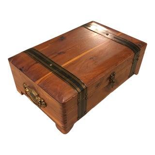 Rustic Cedar Keepsake Box