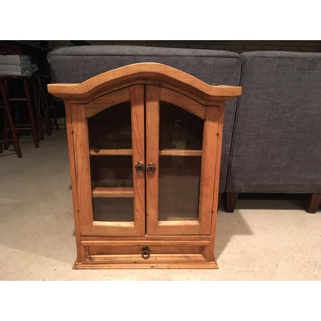 Rustic Pine Southwestern Cabinet For Sale In Detroit - Image 6 of 6