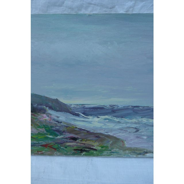 Abstract Beach Painting by H.L. Musgrave - Image 4 of 7