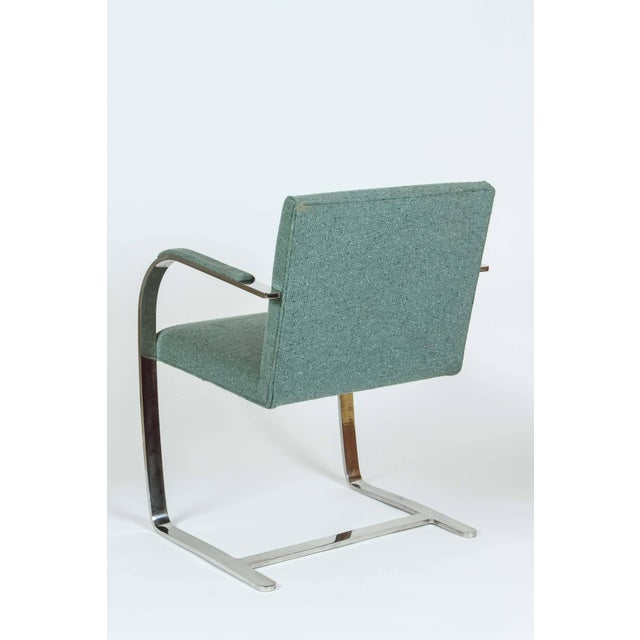 Mid 20th Century Vintage Mid Century Mies Van Der Rohe Brno for Knoll Chair- a Pair For Sale - Image 5 of 10