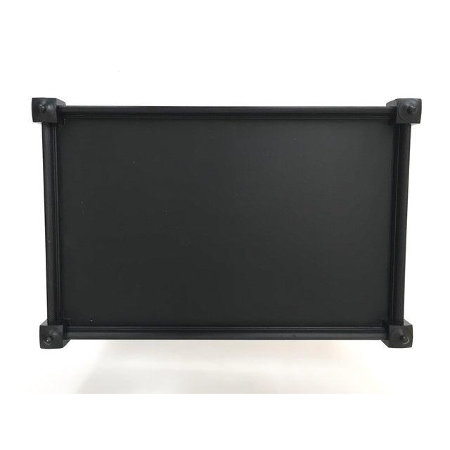 Black Painted Tea Table - Image 4 of 8