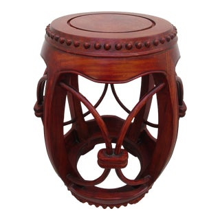Chinese Garden or Barrel Stool For Sale