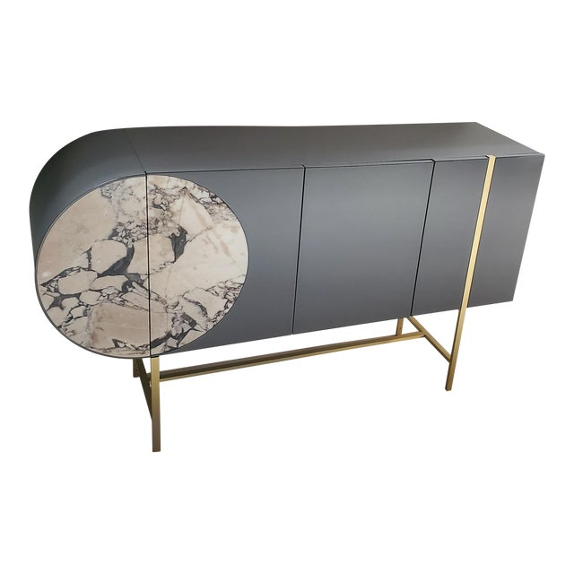 Contemporary Baxter Selene Credenza For Sale