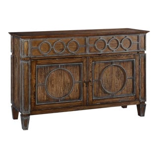 Sideboard San Maria Transitional Rustic Pecan For Sale