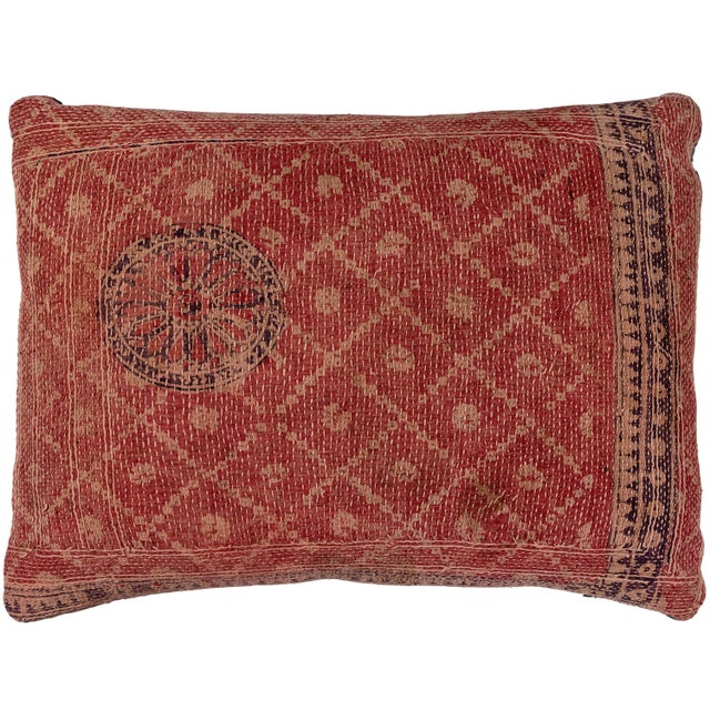 Mid 20th Century Banjara Bag Face Pillow For Sale - Image 5 of 5