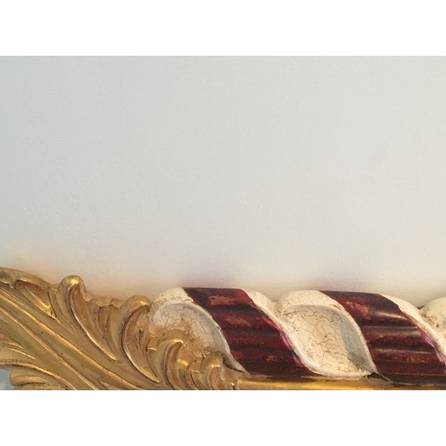 Harrison and Gil Hand Carved Dauphine Mirror For Sale - Image 7 of 7