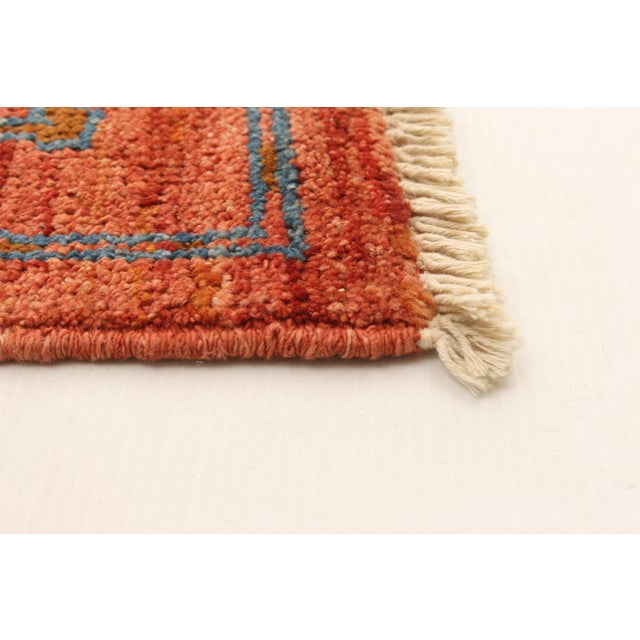 2010s Boho Chic Hand-Knotted Rug For Sale - Image 5 of 9