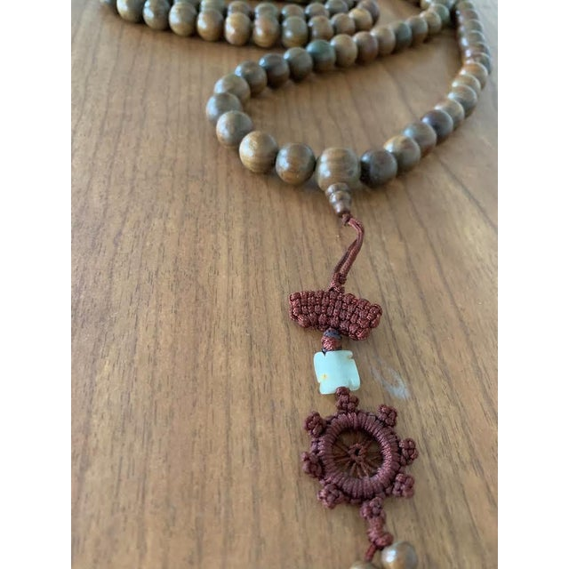 Asian Vintage Chinese Wood Pray Beads For Sale - Image 3 of 5