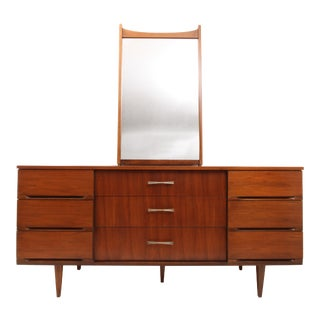 Mid Century Modern Harmony House Dresser With Mirror For Sale