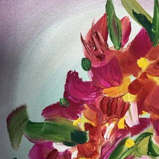 Grace Amongst the Flowers Contemporary Painting Preview