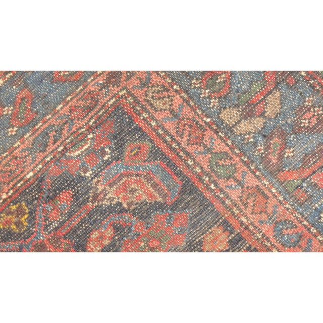 Islamic Antique Persian Bijar Runner Rug - 17' x 3' For Sale - Image 3 of 4