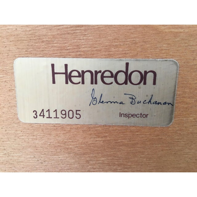Henredon Mahogany King Size Chippendale Style Rice Tobacco Poster Bed For Sale - Image 12 of 13