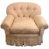 Image of Overstuffed Very Fine Upholstered Lounge Chair Attributed to O Henry House Ltd For Sale