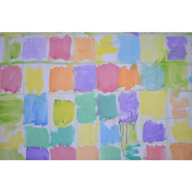 "Stephen Remick Modern Abstract Contemporary Painting, ""Spring Equinox"", by Stephen Remick For Sale - Image 4 of 12"