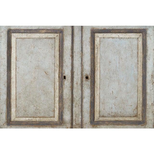 19th Century Italian Abruzzo Two-Door Buffet in Original Paint For Sale In Wichita - Image 6 of 13