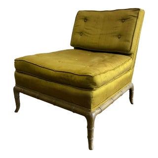 Robsjohn Gibbings for Widdicom Slipper Chair For Sale