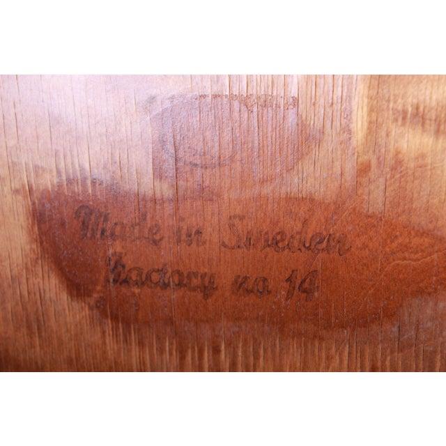 Edmond Spence Wave Front Highboy Dresser For Sale - Image 12 of 13
