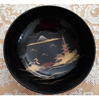 Vintage Chinese Lacquered Sushi Dishes - Set of 21 Preview