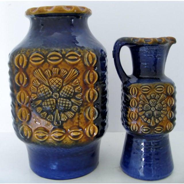 Vintage West German Vases A Pair Chairish