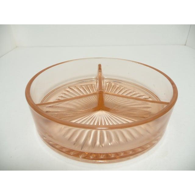 Vintage Fostoria Lidded Dish, Blush Pink - Image 6 of 9