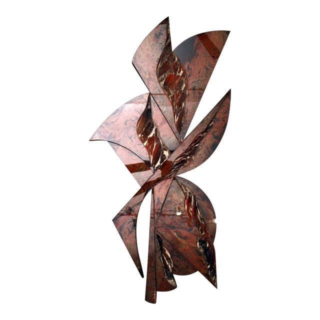 """48"""" Tall Abstract Resin Sculpture by Laddie John Dill For Sale"""