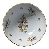 """Image of Italian Faience Hand-Painted 11""""Centerpiece/Serving Bowl For Sale"""