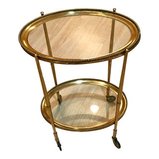 Hollywood Regency Drinks Table For Sale
