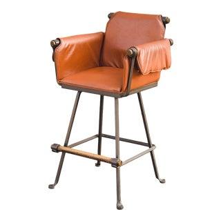 1970s Vintage Cleo Baldon for Terra Furniture High Stool For Sale