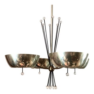 Mid-Century Modern Gerald Thurston for Lightolier Chandelier For Sale