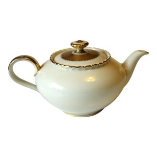 Vintage Bavarian Porcelain Teapot For Sale