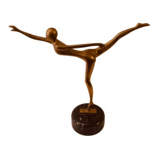 Mid-Century Modern Dancer Sculpture For Sale