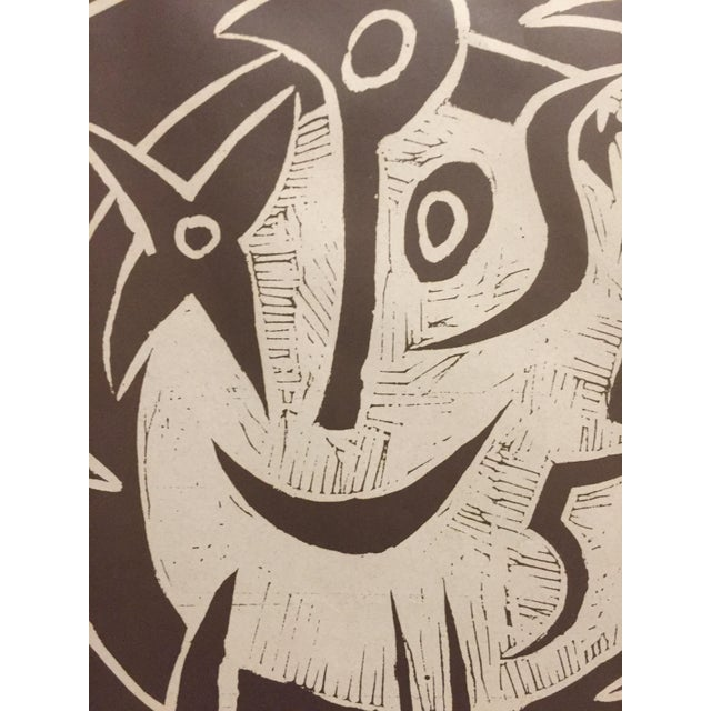 1955 Pablo Picasso Exposition Vallauris Poster For Sale - Image 5 of 6