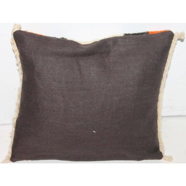Small Navajo Weaving Eye Dazzler Pillow - Image 2 of 5