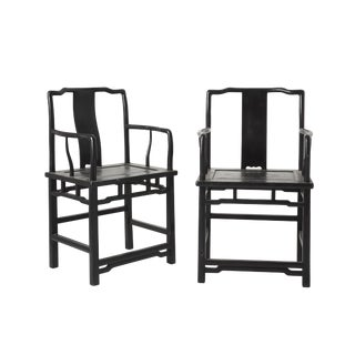 Late 18th Century Chinese Chairs- A Pair For Sale