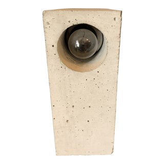 """Beton"" Concrete Lamp by Adrian Maier For Sale"