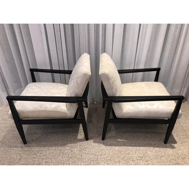 Mid-Century Modern Mid-Century Style Chairs by Arhaus - a Pair For Sale - Image 3 of 13