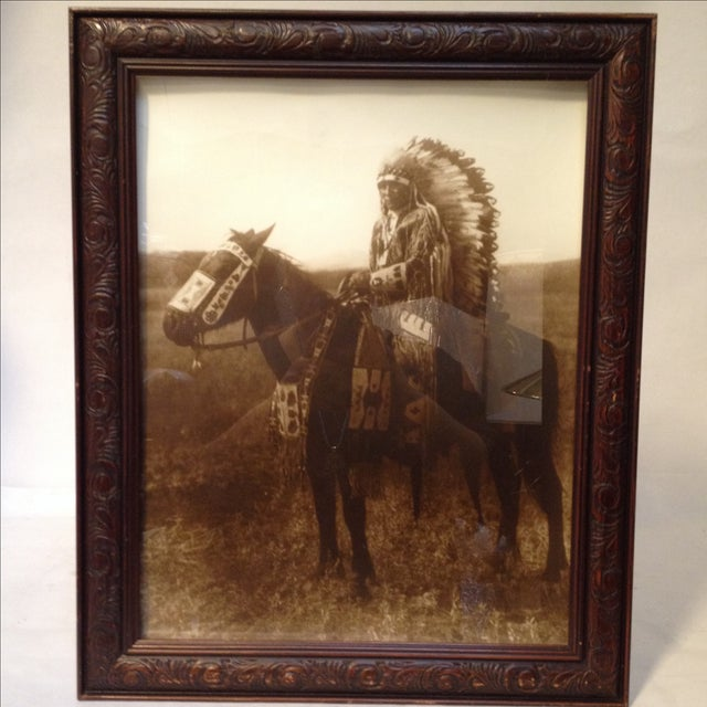 Native American Chief Hector Photograph - Image 8 of 8