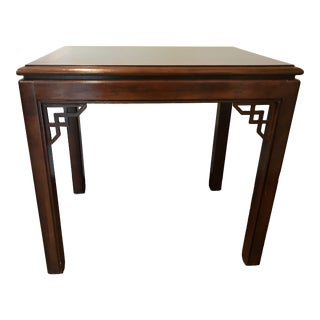 1960s Chinoiserie Beautiful Chinese End Table For Sale