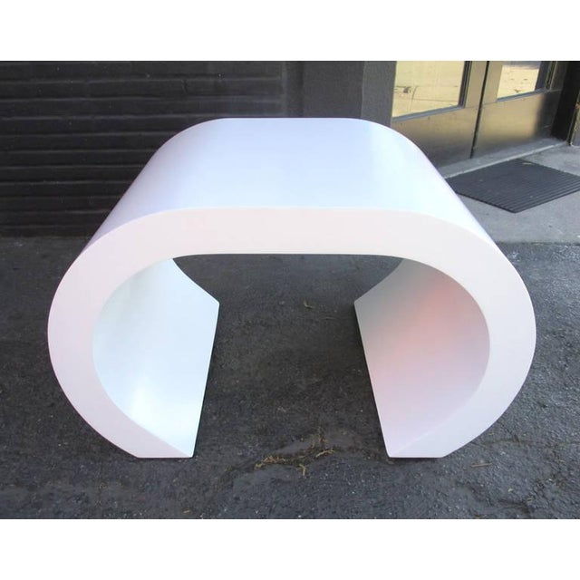 White Scroll Coffee Table or Side Table - Image 3 of 8