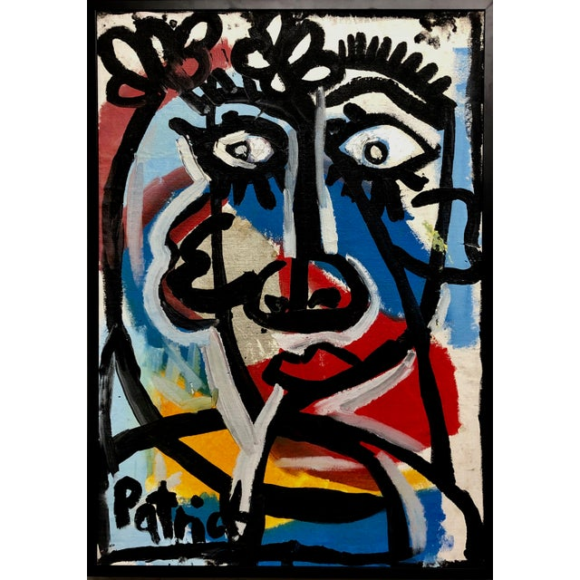 1990s Patrick Ames Williamson Untitled Painting For Sale - Image 4 of 4