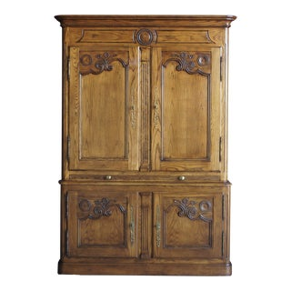 Baker Parisian Armoire Cabinet For Sale