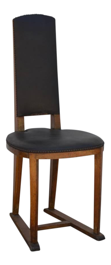 Exquisite Slender Arts U0026 Crafts Oak Side Chair | DECASO