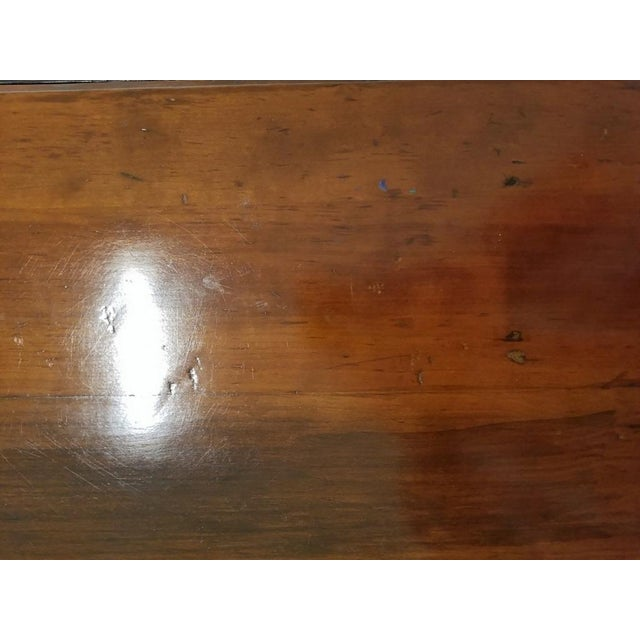 19c Virginia Shaker Drop Leaf Table - With Provenance For Sale In Dallas - Image 6 of 13
